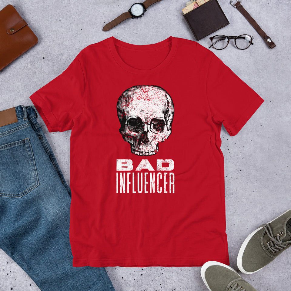 Bad Influencer Short-Sleeve Unisex T-Shirt
