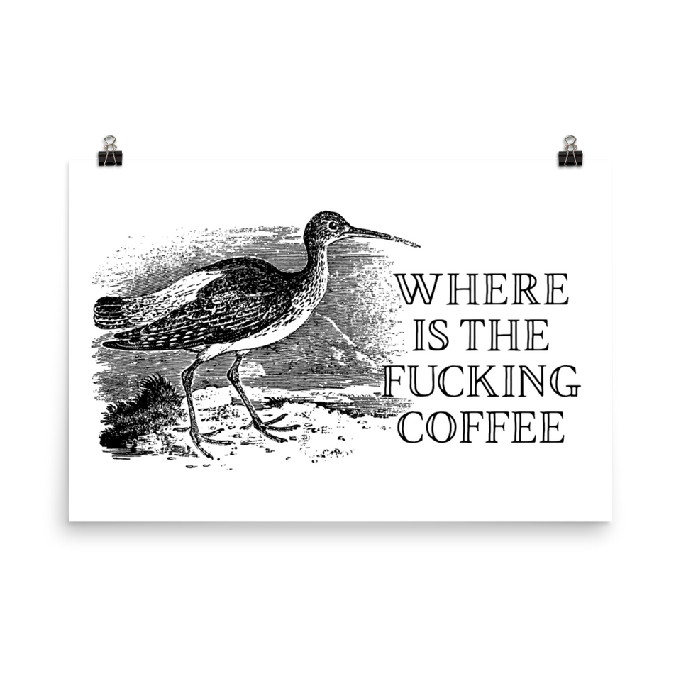 Where is the Coffee Poster