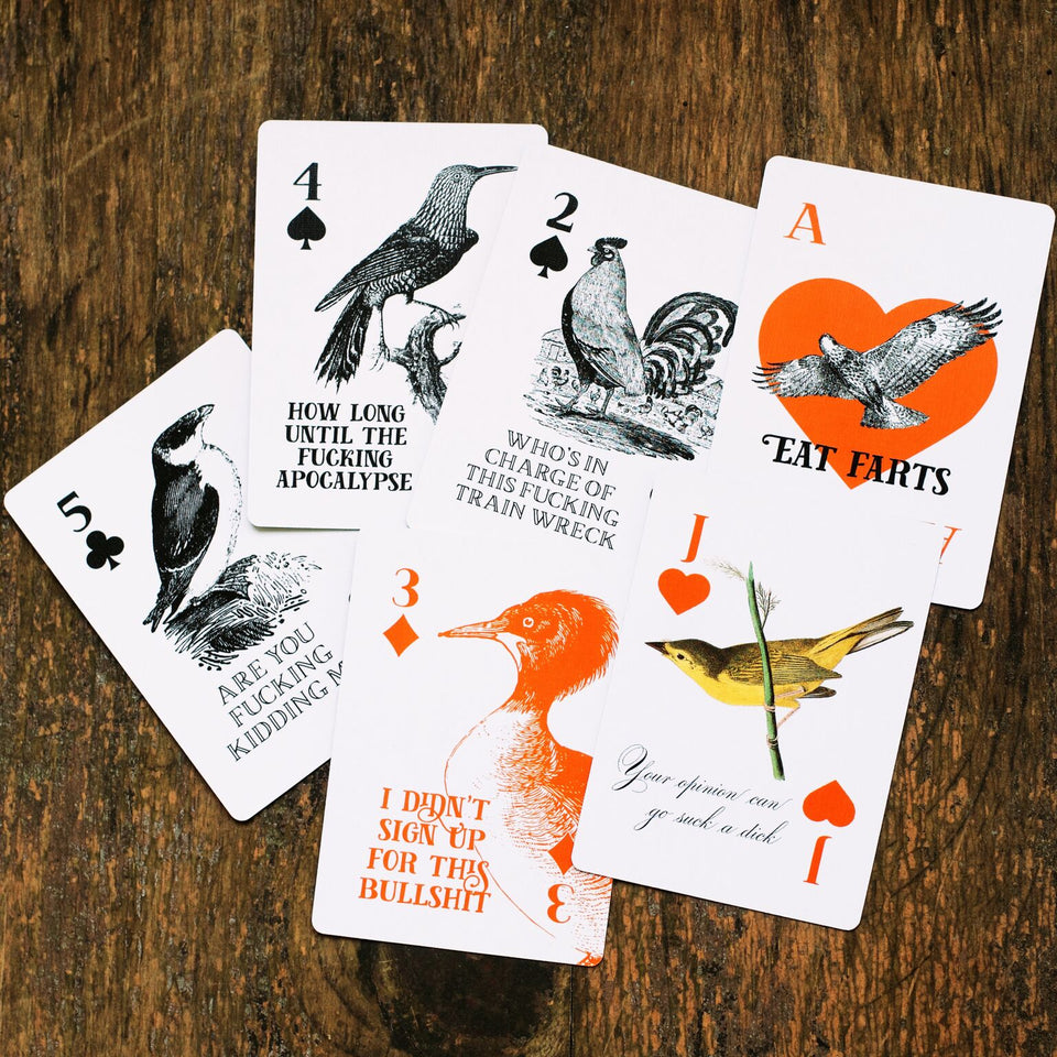 Deck of Birds