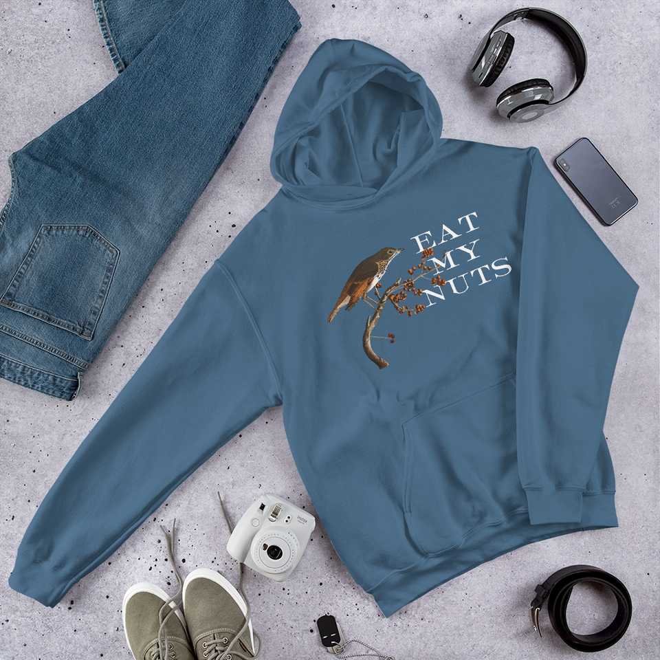 Eat My Nuts Hooded Sweatshirt
