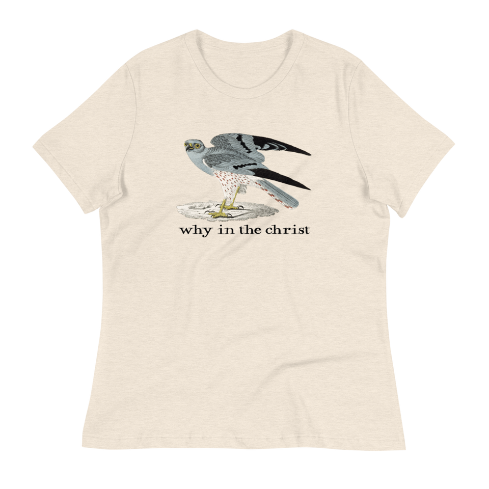 Why In The Christ Relaxed Fit T-Shirt