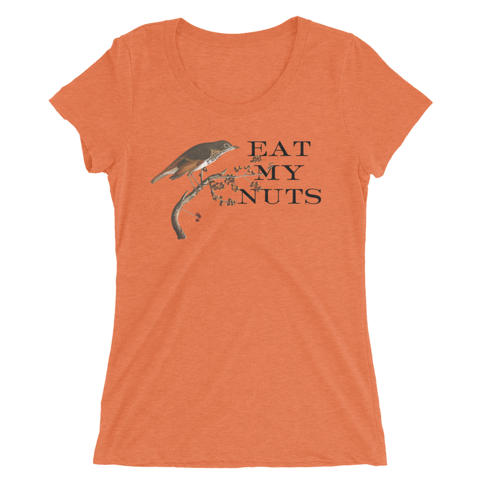 Eat My Nuts Slim Fit T-Shirt