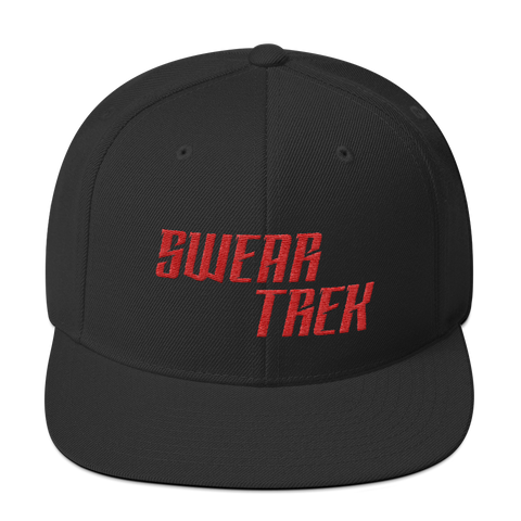 Swear Trek Snapback Hat