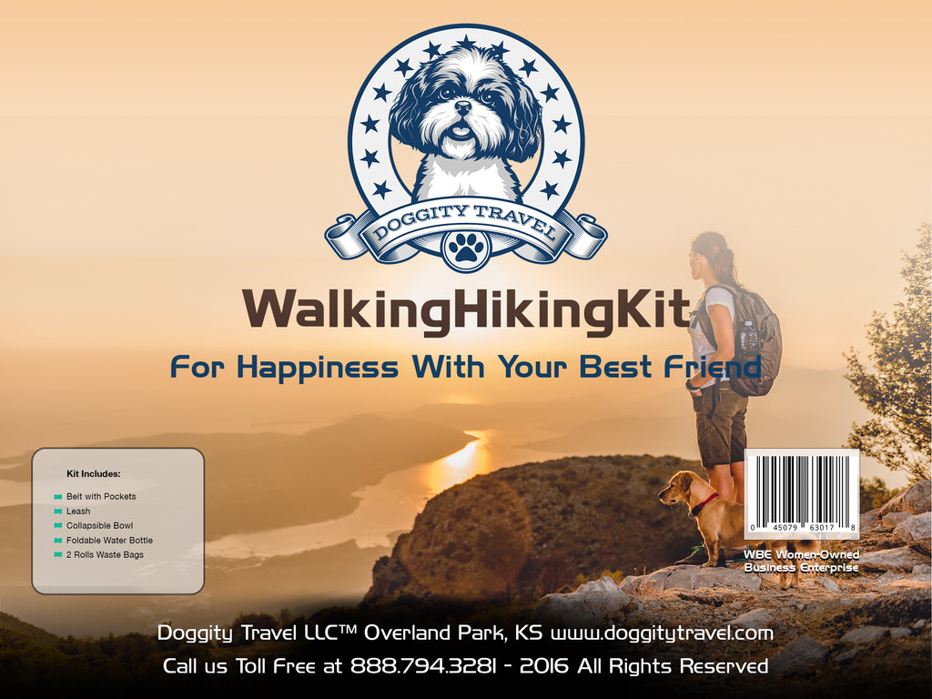 DOG WALKING/HIKING KIT