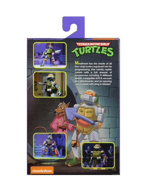 TEENAGE MUTANT NINJA TURTLES CARTOON METALHEAD ULTIMATE 7 INCH SCALE ACTION FIGURE