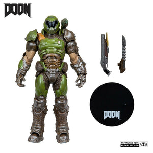 "DOOM SLAYER CLASSIC 7"" SCALE ACTION FIGURE"