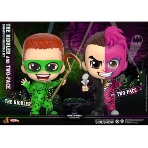 COSBABY BATMAN FOREVER THE RIDDLER AND TWO-FACE 2 PACK