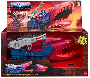 "MASTERS OF THE UNIVERSE ORIGINS LAND SHARK ""PRE-ORDER APR 2021 APPROX"""