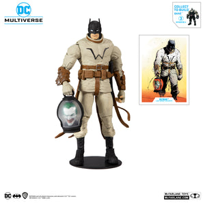 "DC MULTIVERSE BATMAN (BUILD A BANE) LAST KNIGHT ON EARTH #3 7"" ACTION FIGURE"