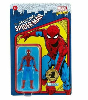 MARVEL LEGENDS RETRO 3.75 SPIDERMAN & ELECTRO ACTION FIGURE 2 PACK