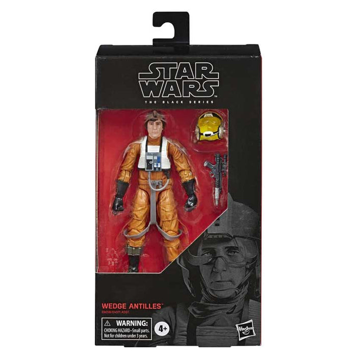 "STAR WARS THE BLACK SERIES WEDGE ANTILLES 6"" ACTION FIGURE"
