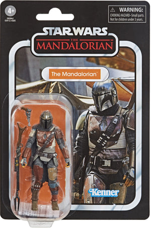 "STAR WARS THE VINTAGE COLLECTION THE MANDALORIAN 3.75"" ACTION FIGURE"