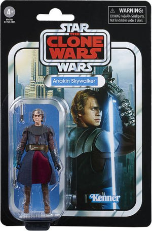 "STAR WARS THE VINTAGE COLLECTION CLONE WARS ANAKIN SKYWALKER 3.75"" ACTION FIGURE"