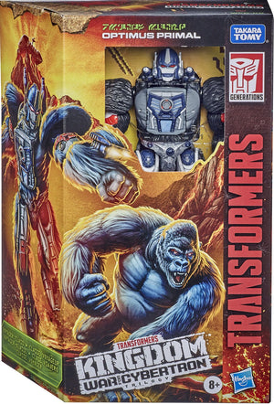 TRANSFORMERS GENERATIONS WFC KINGDOM OPTIMUS PRIMAL