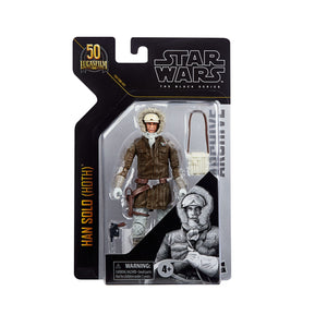 "STAR WARS THE BLACK SERIES ARCHIVE GRAND ADMIRAL HAN SOLO (HOTH) 6"" ACTION FIGURE"