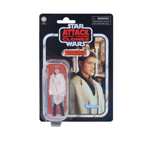 "STAR WARS THE VINTAGE COLLECTION ATTACK OF THE CLONES ANAKIN SKYWALKER (PEASANT DISGUISE) 3.75"" ACTION FIGURE"