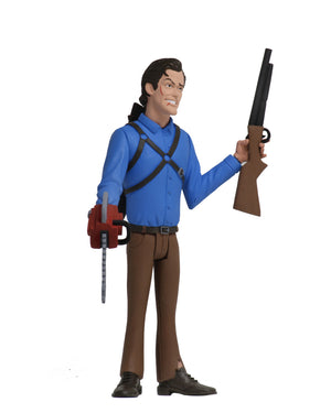 TOONY TERRORS WAVE 3 EVIL DEAD 2 ASH ACTION FIGURE