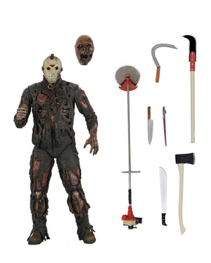 "FRIDAY THE 13TH PART 7 ULTIMATE JASON VOORHEES (NEW BLOOD) 7  INCH SCALE ACTION FIGURE ""PRE-ORDER FEB/MAR 2021 APPROX"""