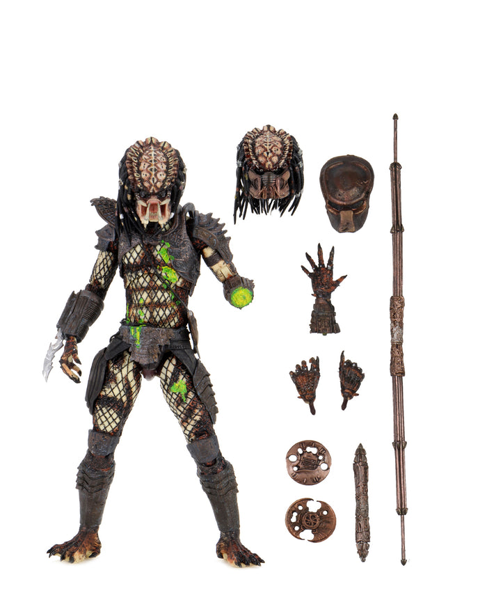 "PREDATOR 2  ULTIMATE BATTLE DAMAGED CITY HUNTER 7INCH SCALE ACTION FIGURE ""PRE-ORDER JULY 2021 APPROX"""