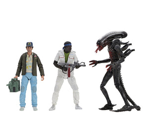 ALIEN 4OTH ANNIVERSARY WAVE 2 ACTION FIGURE FULL SET OF 3