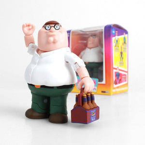 THE LOYAL SUBJECTS FOX ANIMATION FAMILY GUY PETER GRIFFIN 8CM ACTION VINYL