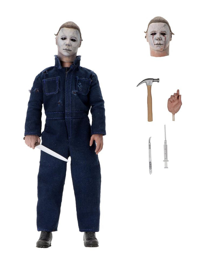 "HALLOWEEN 2 MICHAEL MYERS 8"" CLOTHED ACTION FIGURE ""PRE ORDER AUG 2020 APPROX"""