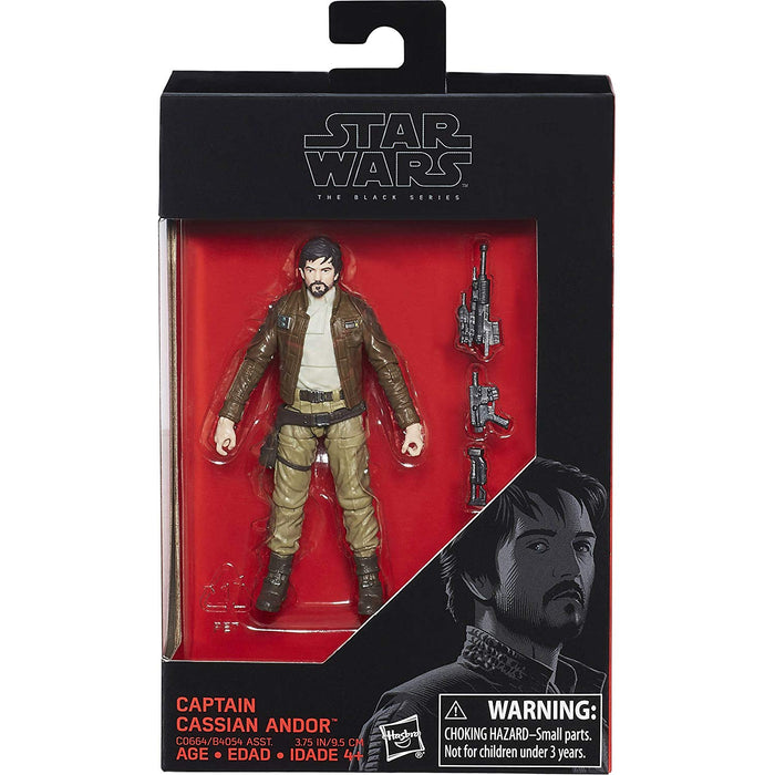"Star Wars The Black Series Captain Cassian Andor 3.75"" Action Figure"