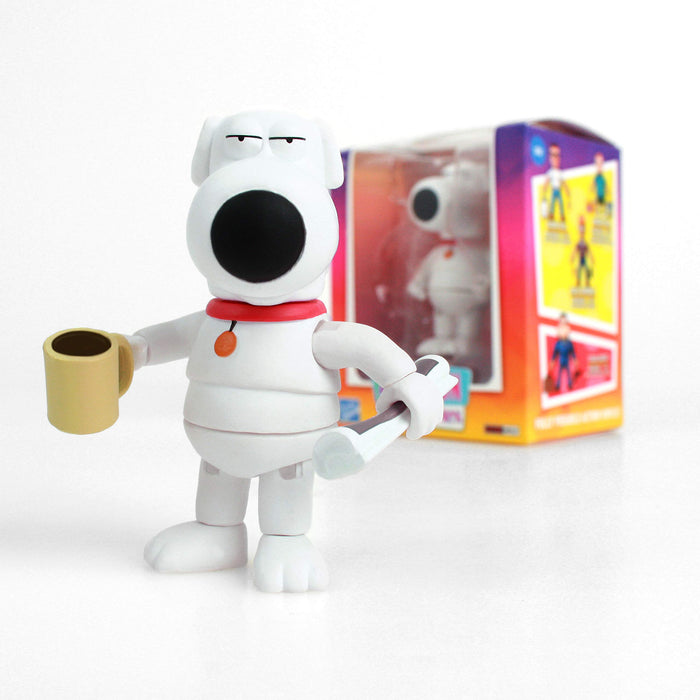 THE LOYAL SUBJECTS FOX ANIMATION FAMILY GUY BRIAN GRIFFIN 8CM ACTION VINYL