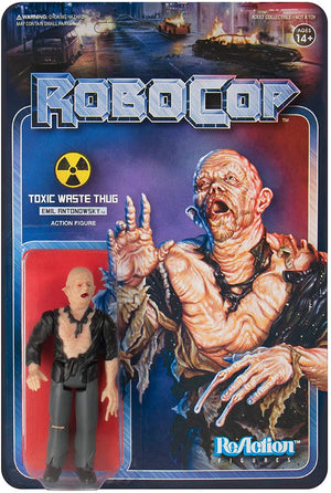 ROBOCOP TOXIC WASTE THUG EMIL ANTONOWSKY REACTION 10CM ACTION FIGURE