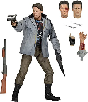 TERMINATOR T-800 TECH NOIR ULTIMATE 7 INCH ACTION FIGURE