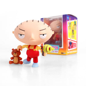 THE LOYAL SUBJECTS FOX ANIMATION FAMILY GUY STEWIE GRIFFIN 8CM ACTION VINYL