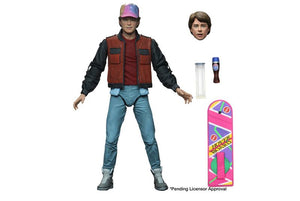 BACK TO THE FUTURE PART 2 ULTIMATE MARTY 7 INCH SCALE ACTION FIGURE
