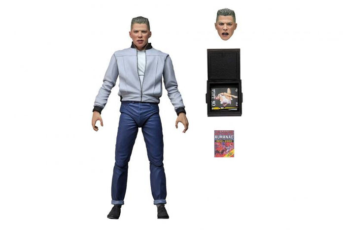 BACK TO THE FUTURE ULTIMATE BIFF 7 INCH SCALE ACTION FIGURE