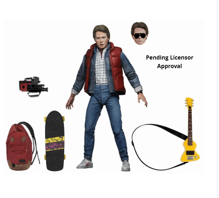 "BACK TO THE FUTURE PART 1 ULTIMATE MARTY 7 INCH SCALE ACTION FIGURE ""PRE ORDER OCT 2020 APPROX"""