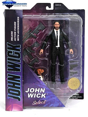 JOHN WICK SELECT ACTION FIGURE