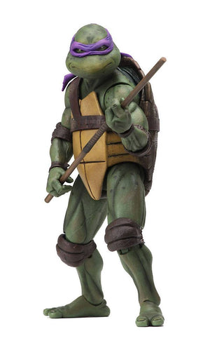 "TEENAGE MUTANT NINJA TURTLES 1990 MOVIE DONATELLO ACTION FIGURE ""PRE ORDER JUN 2020 APPROX"""