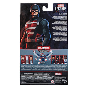 "MARVEL LEGENDS SERIES FALCON AND THE WINTER SOLDIER 6"" US AGENT D+ ""PRE-ORDER AUG 2021 APPROX"""