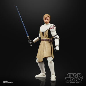"STAR WARS THE BLACK SERIES CLONE WARS OBI-WAN KENOBI 6"" ACTION FIGURE"