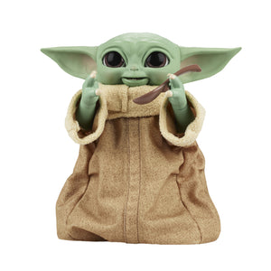 "STAR WARS GALACTIC SNACKIN' GROGU 9"" ANIMATRONIC TOY ""PRE-ORDER DEC 2021 APPROX"""