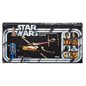 STAR WARS RETRO COLLECTION ESCAPE FROM THE DEATH STAR BOARD GAME WITH TARKIN ACTION FIGURE