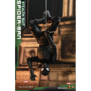 "HOT TOYS SPIDER-MAN FAR FROM HOME 1:6 SPIDER-MAN STEALTH SUIT ""PRE ORDER Q3 2020"""