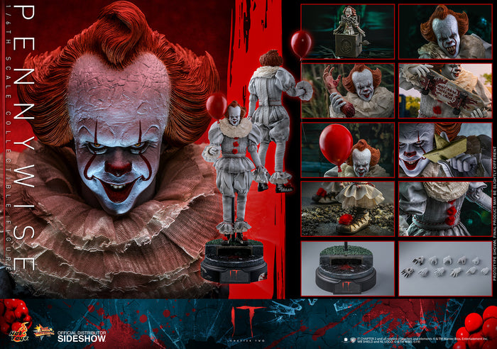 "HOT TOYS 1:6 PENNYWISE - IT CHAPTER 2 ""PRE ORDER Q1 2021"""
