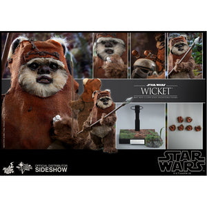 "HOT TOYS STAR WARS 1:6 WICKET ""PRE ORDER Q3 2020"""