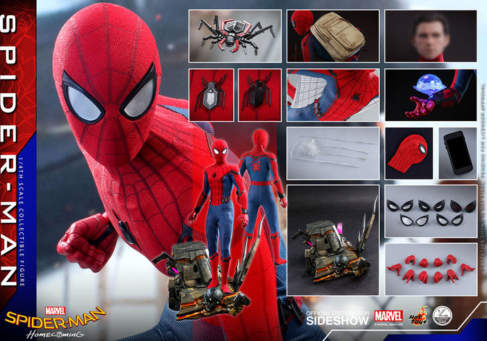 "HOT TOYS 1:4 SPIDER-MAN HOME COMING SPIDER-MAN ""PRE ORDER Q4 2020"""