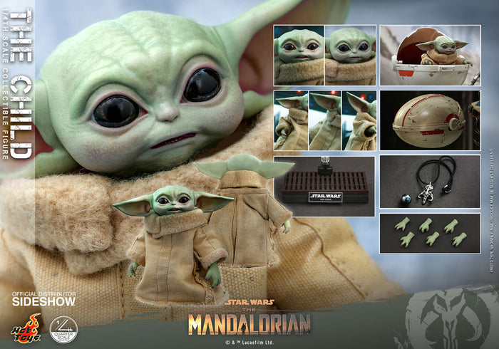 "HOT TOYS STAR WARS THE MANDALORIAN 1:4 SCALE THE CHILD ""PRE-ORDER Q4 2021 APPROX"""
