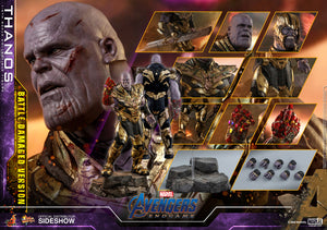"HOT TOYS MARVEL AVENGERS: ENDGAME 1:6 THANOS BATTLE DAMAGED VERSION ""PRE-ORDER Q2 2021"""