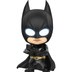 "COSBABY BATMAN THE DARK KNIGHT BATMAN WITH STICKY BOMB GUN ""PRE-ORDER Q3 2020"""