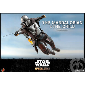 "HOT TOYS STAR WARS 1:6 THE MANDALORIAN AND THE CHILD ""PRE-ORDER Q2 2021 APPROX"""