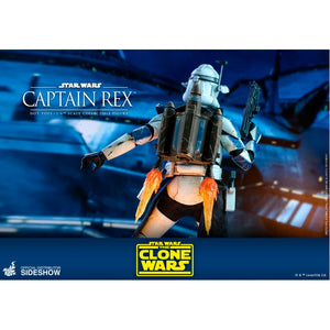 "HOT TOYS STAR WARS CLONE WARS 1:6 CAPTAIN REX ""PRE-ORDER Q2 2021 APPROX"""