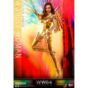 "HOT TOYS WONDER WOMAN WW84 1:6 GOLDEN ARMOR WONDER WOMAN ""PRE-ORDER Q2 2021 APPROX"""